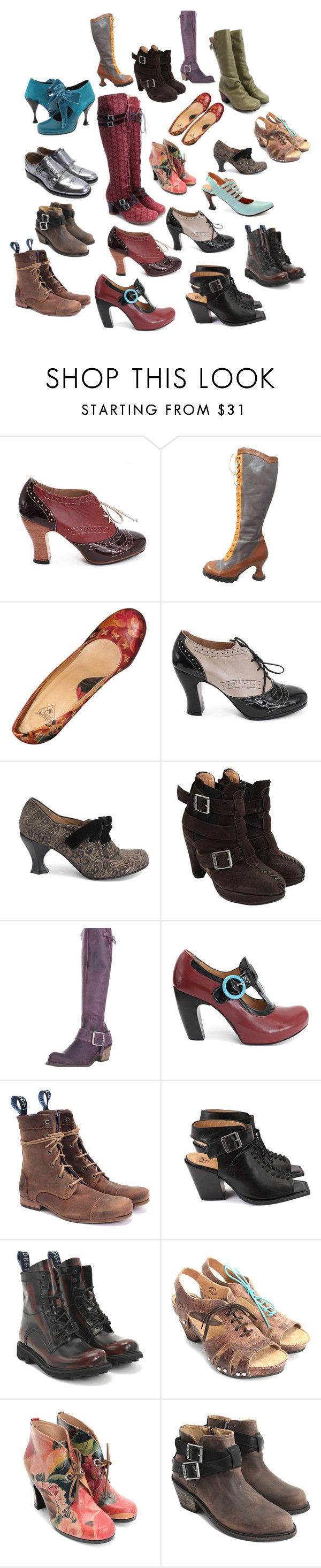 """Fluevog Fun"" by guliverlouise ❤ liked on Polyvore featuring John Fluevog"