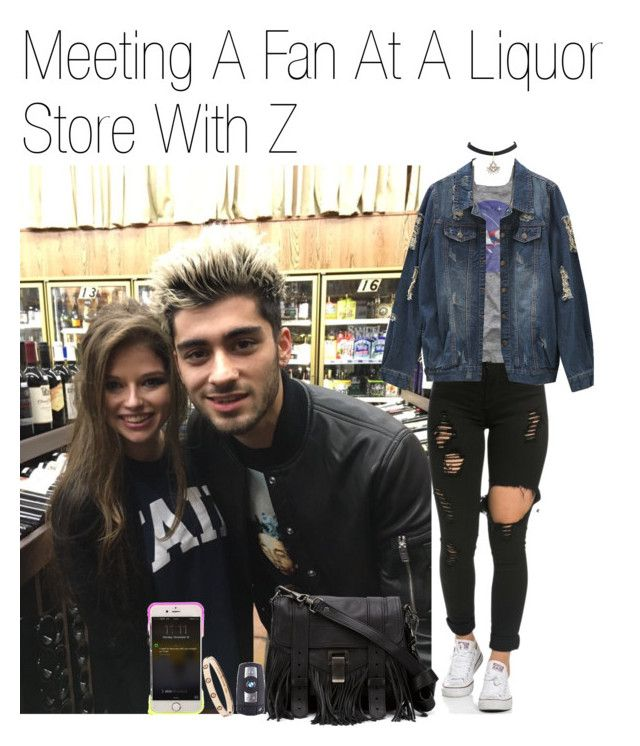 """""""Meeting A Fan At A Liquor Store With Z"""" by katarina-stilinski ❤ liked on Polyvore featuring Proenza Schouler, BMW, imagine, zayn and zaynmalik"""