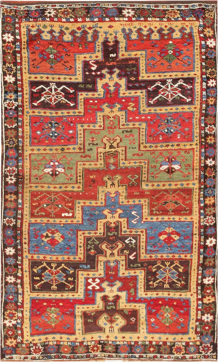 antique tribal rug yuruk