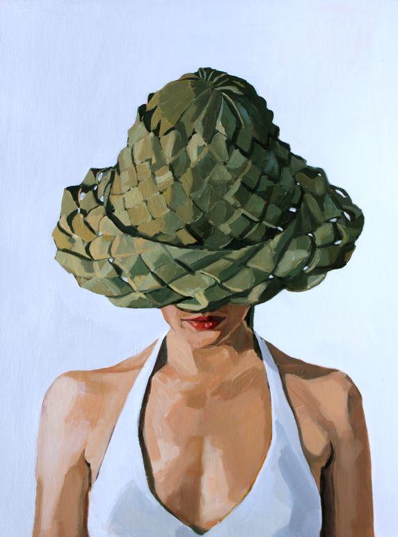 "Saatchi Art Artist: Erin Fitzpatrick; Oil 2013 Painting ""Self Portrait"""