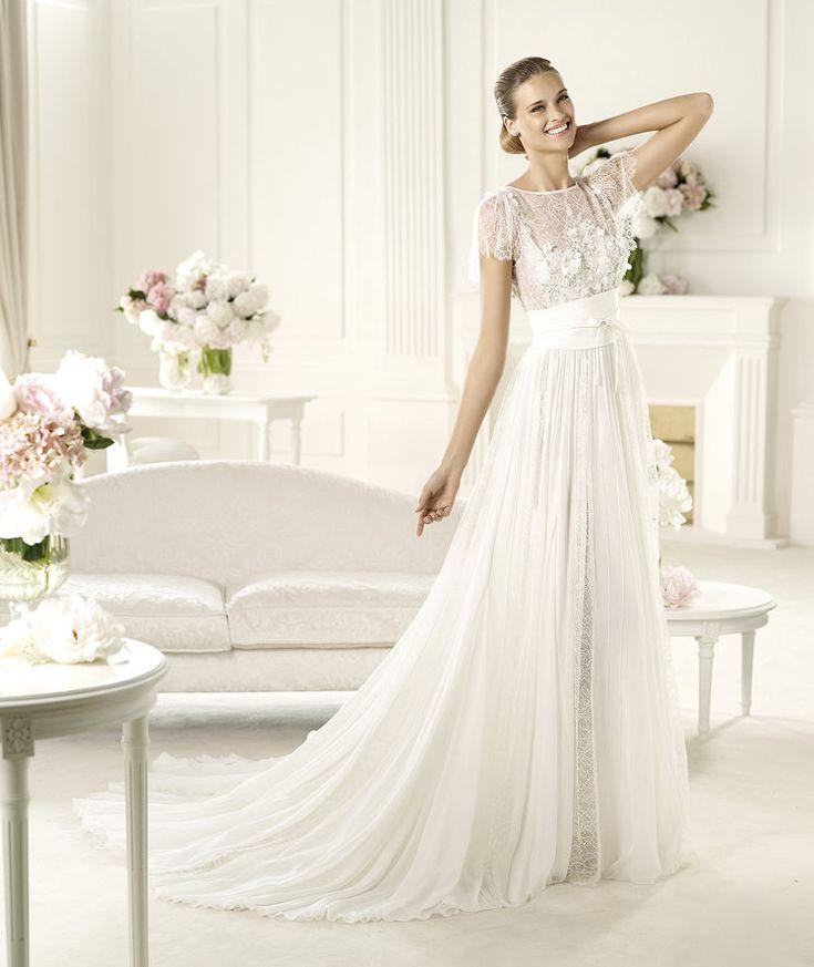 Pronovias Presents The Lorraine Wedding Dress Elie By Saab 2013