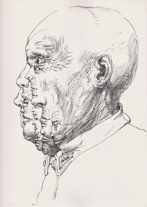 artwork by Franciszek Starowieyski  Taken from Graphis 157, 1972