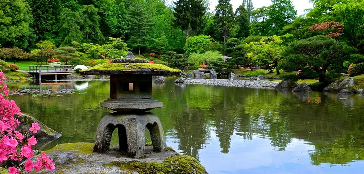 Seattle Japanese Garden has a trail designated  for accessibility  1075 Lake Washington Blvd. Seattle, WA 98112