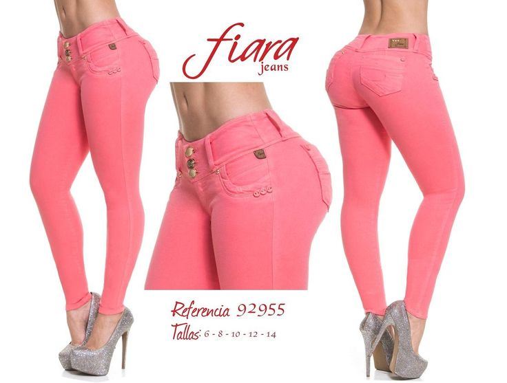 Pantalón colombiano Fiara Jeans +Modelos en:  http://www.ropadesdecolombia.com/index.php?route=product/category&path=112  #pantalones #jeans #pantalonescolombianos