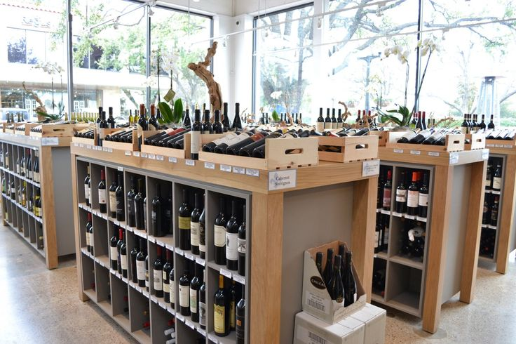 A large wine selection with frequent wine tastings at Royal Blue Grocery.