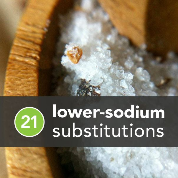 lower sodium means a reduced risk of migraines per month, of having another kidney stone, and a high chance of feeling good