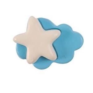 pomos tiradores nube y estrella de ceramica mate mueble bebes 494 comprar venta online 379a1