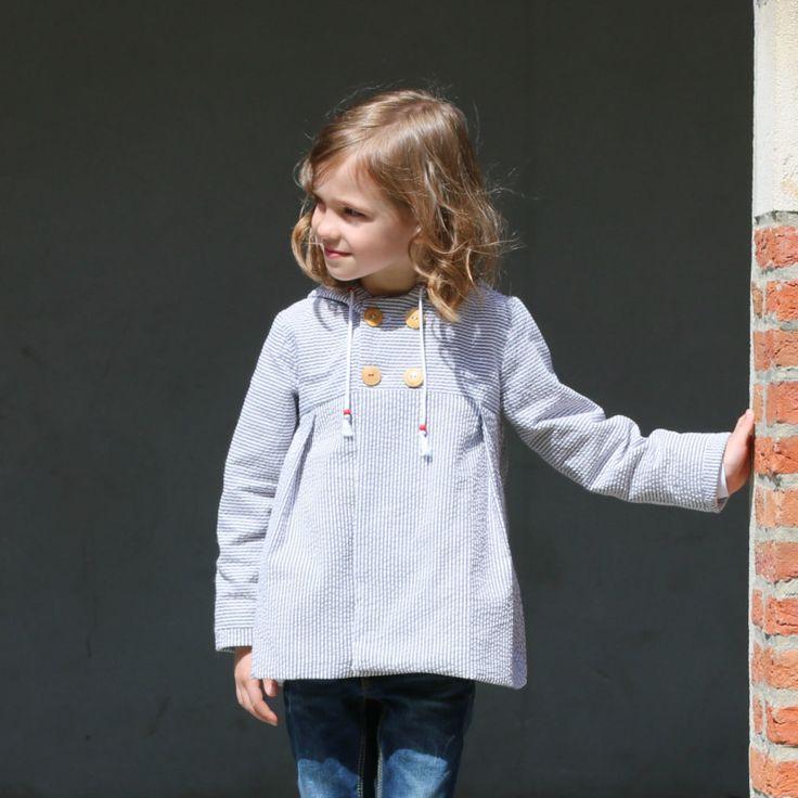 straightgrain moiano summer coat