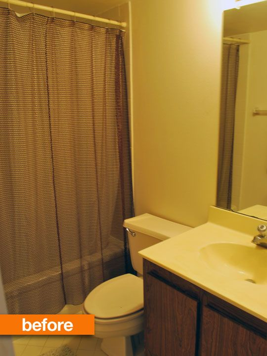 Before & After: World's Ugliest Condo Bathroom