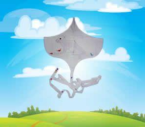 how to make a plastic kite