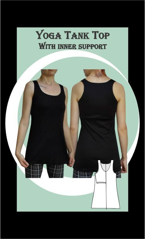 Yoga Top Sewing Pattern