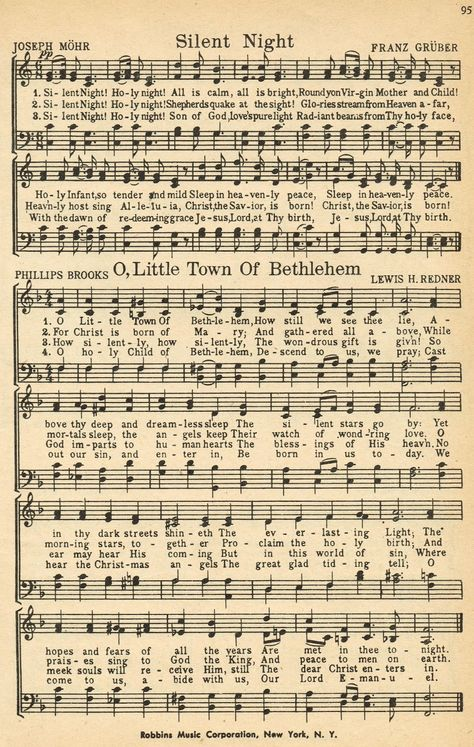 Christmas Music Pages Loads of it for Free (download or print) silent+night+001.jpg 1,014×1,600 pixels Saved from : Vintage Farmhouse Living
