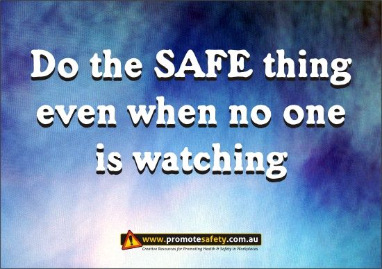 Safety Slogan Do the Right Things                                                                                                                                                                                 More