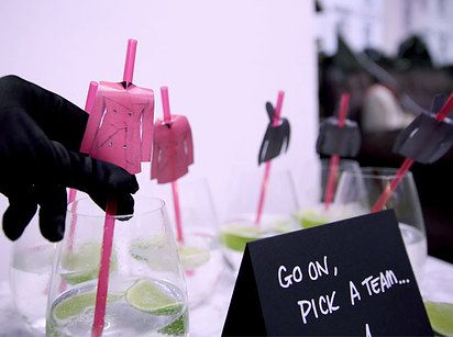 """All food and beverages should be served in a way that would impress any member of the A-Team. 