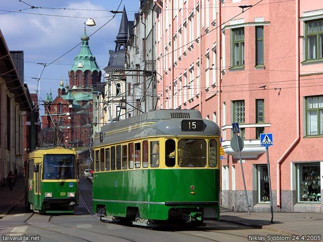 Kruunuvuorenkatu, Katajanokka, Helsinki taivasalla.net  2005