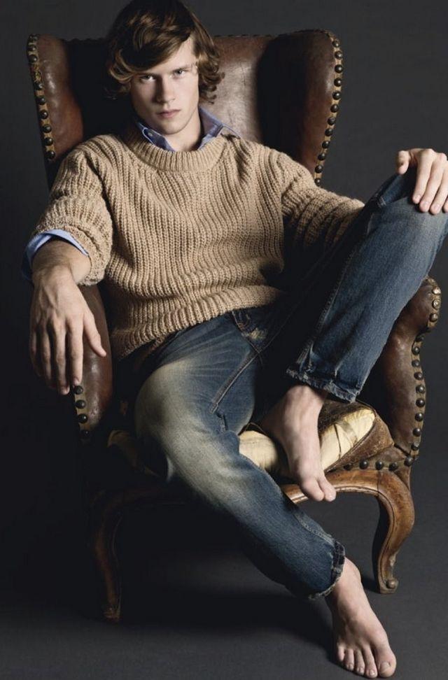 image Gay male bare feet xxx johnny foot fucks