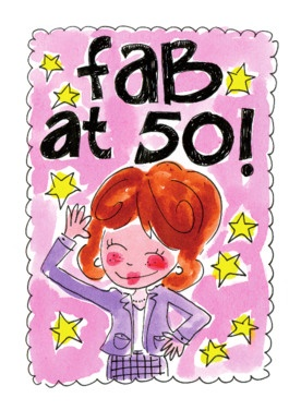 Fab at 50! (vrouw) - Blond Amsterdam