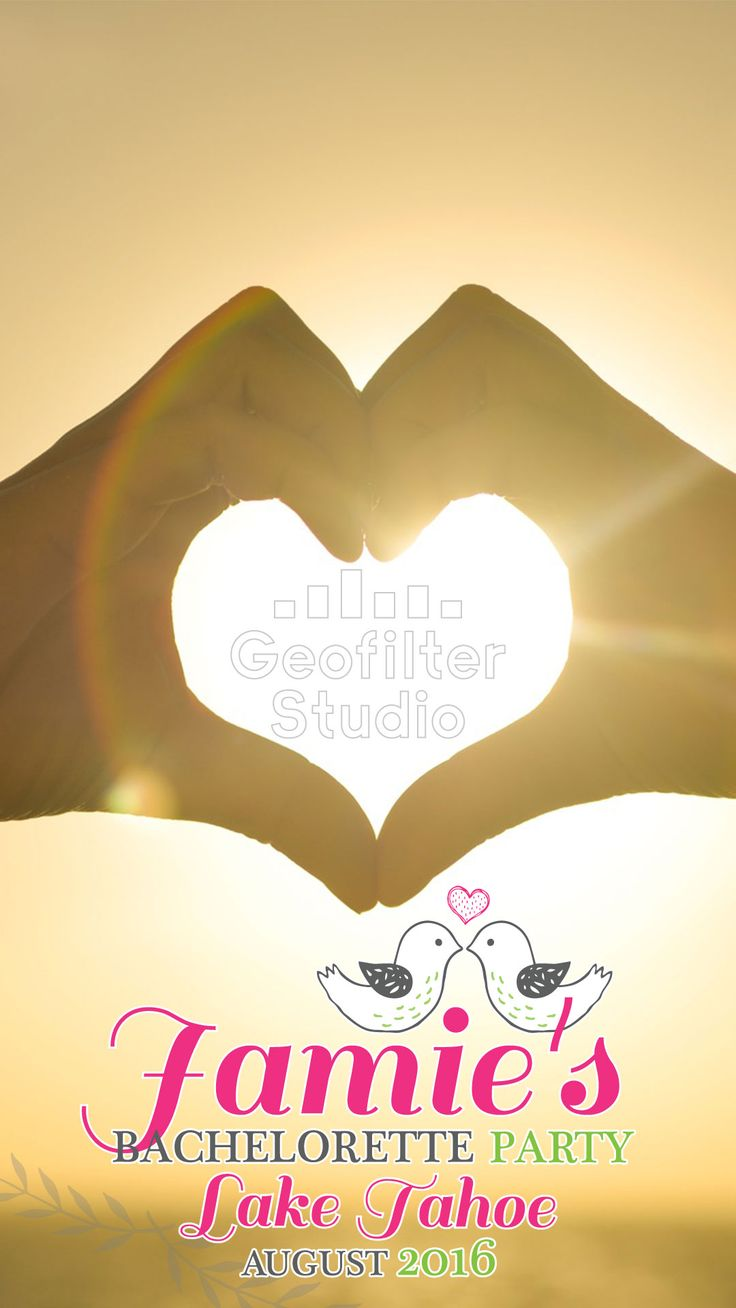 Have you thought about getting a Snapchat Geofilter for your upcoming Bachelorette party?! We create beautiful custom designs based on your unique needs! #bride #bachelorette #bacheloretteparty #wedding #geofilter #snapchat #snapchatfilter