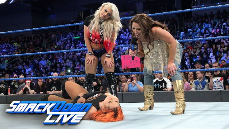 It looks like Mickie James and WWE SmackDown Live Women's Champion Alexa Bliss are still ONE STEP AHEAD of Becky Lynch...
