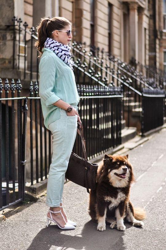 Mint Goldsign jeans, Twist & Tango shirt