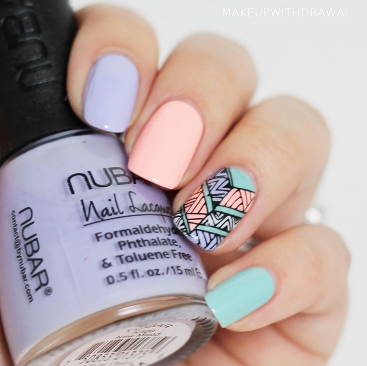 Tribal accent nail - love it!
