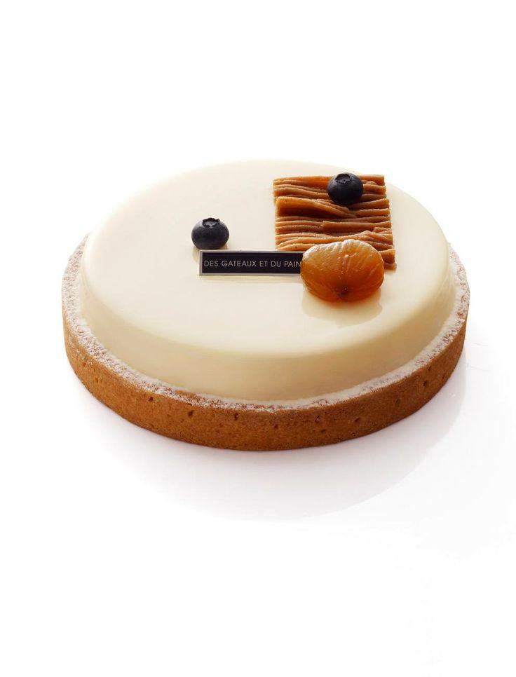 Mont-Blanc cassis - Des Gâteaux et du Pain