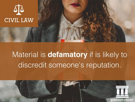 The law of defamation exists to protect a person's reputation, while still preserving the right of free speech. In 2006, all of the Australian states enacted defamation laws that are largely similar.   Read more: Defamation in Tasmania, Link: https://www.gotocourt.com.au/civil-law/tas/defamation/