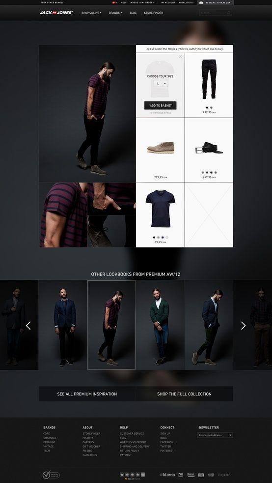 Web design inspiration #web #design #webdesign #layout #fashion #clothes #e-commerce #ecommerce #commerce #website #site #dark #black