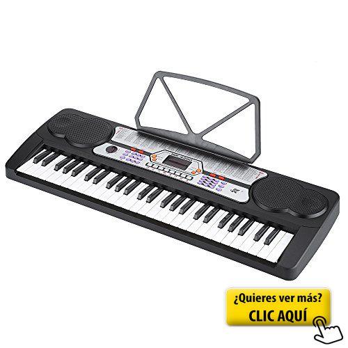 ammoon 54 Teclas Pantalla LED Música Electrónica... #instrumento