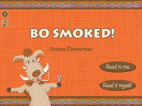 Bo Smoked! by Andrea Zimmerman