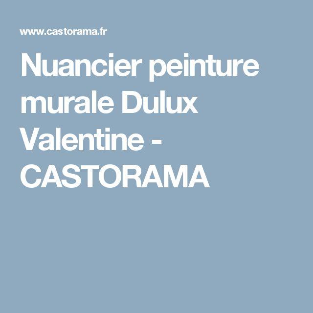 Oltre 1000 idee su dulux valentine su pinterest nuancier for Peinture castorama nuancier