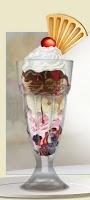 Knickerbocker Glory ice cream sundae @ Learning the PNW