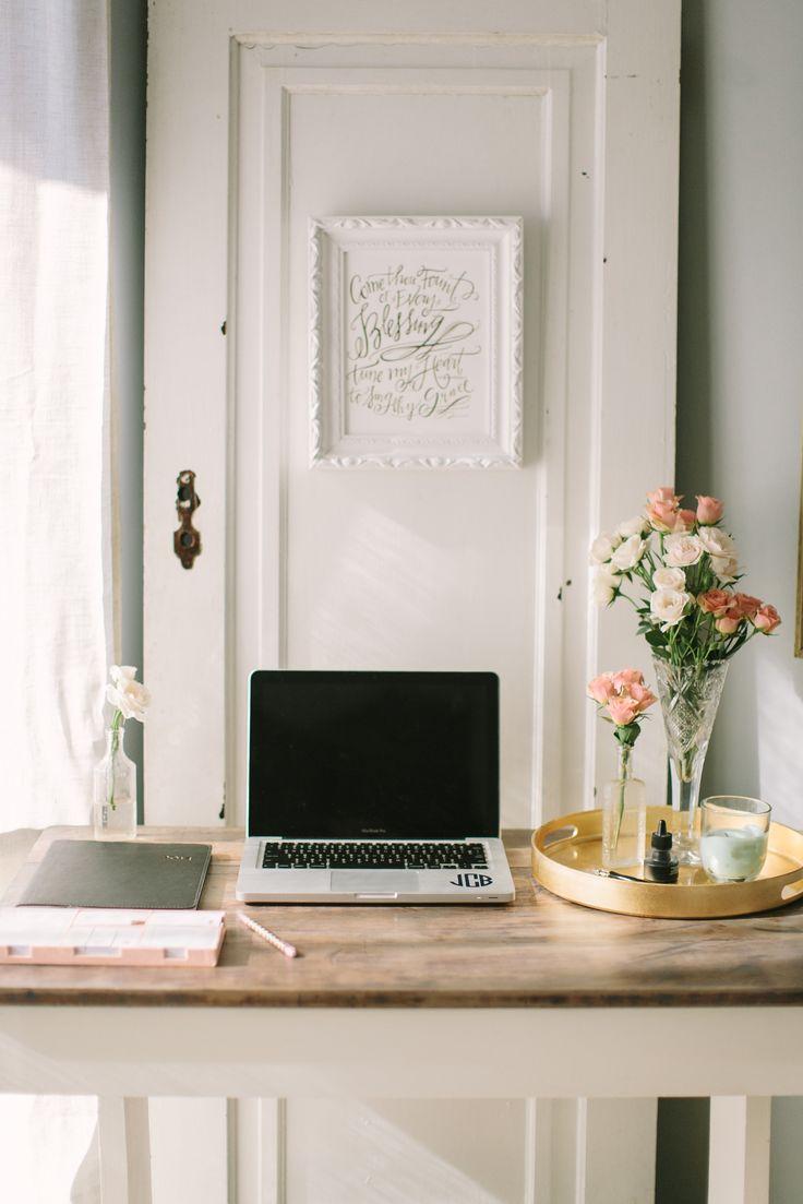 Simply Put Vintage Office Tour Desk InspirationInterior Design