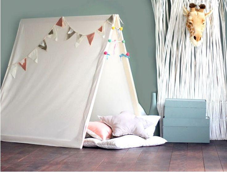 Como fazer uma tenda de brincar?