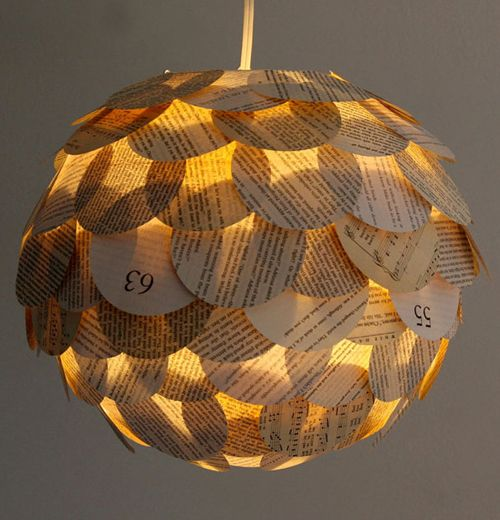 24 best recycled lamps images on pinterest light fixtures artichoke pendant by allison patrick aloadofball Gallery