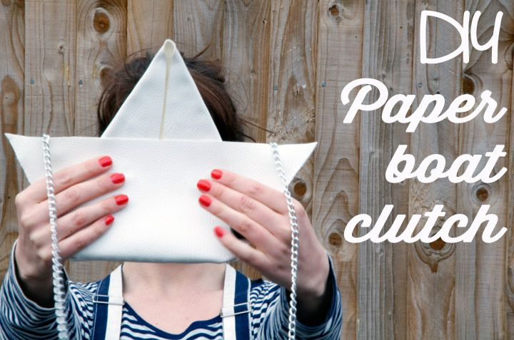 DIY paper boat clutch (Moschino-like) | Clones N Clowns by Aimee WoodClones N Clowns by Aimee Wood