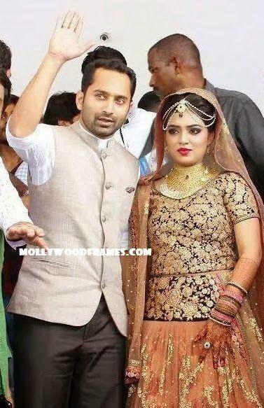 Mollywood Frames. | Malayalam cinema | Malayalam films: Fahadh and Nazriya tied the nuptial knot