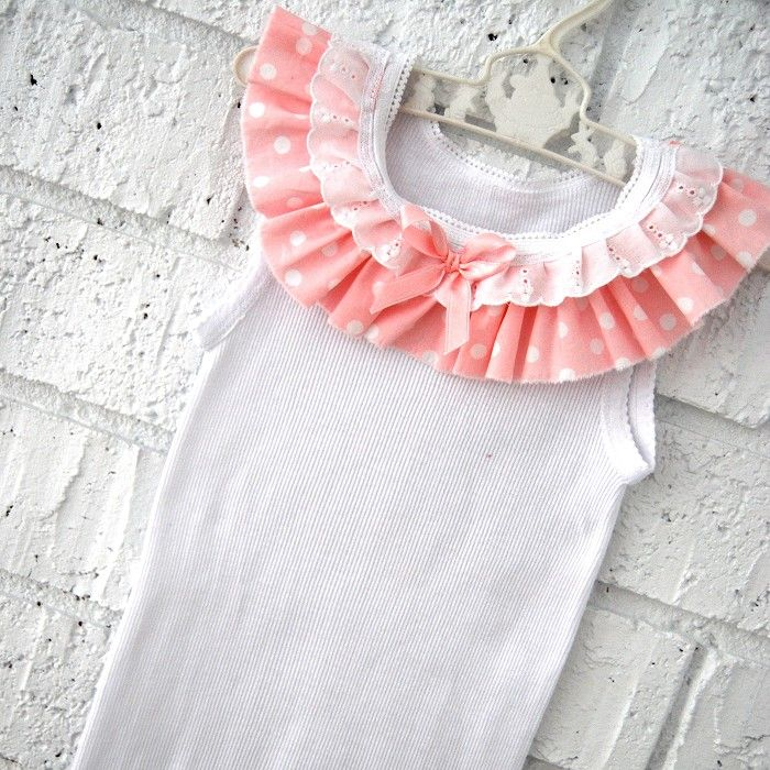 Baby Girl Singlet - birthday pink tank toddler summer LOVE. | Sewing ...