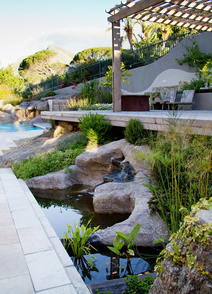 97 Best Images About Exterior Design Cape Town On Pinterest Gardens Natural Pond And Rock