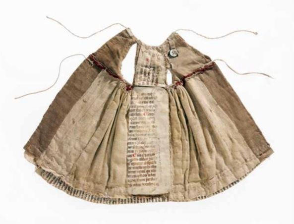 ''Text and Textiles: Manuscript Fragments in Medieval Dresses''