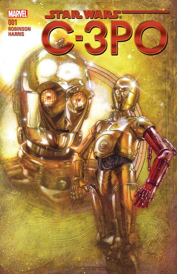Star Wars fans were baffled during The Force Awakens when C-3PO appeared flashing a distinctly NOT gold arm.