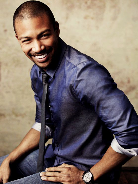 Charles Michael Davis as Marcellus in The Originals - He is a really good actor! On a side note...his teeth and smile are so perfect! = )