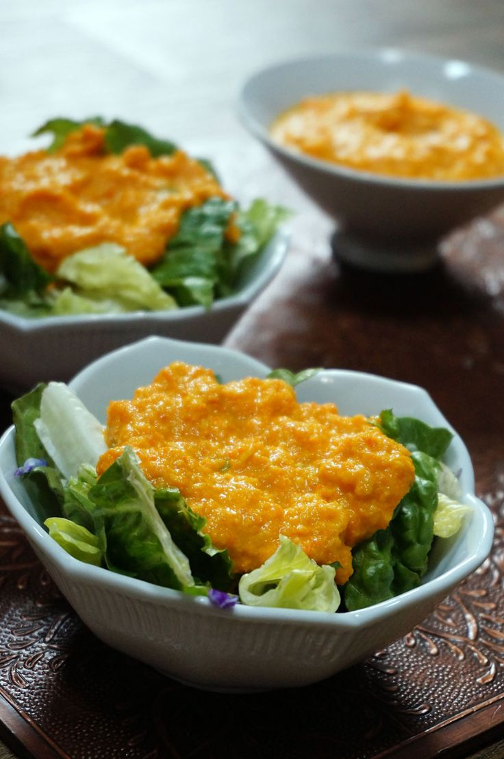 The classic of Japanese restaurants, carrot ginger dressing. Easy to make and easy to customize, you can enjoy the Japanese favorite at home!