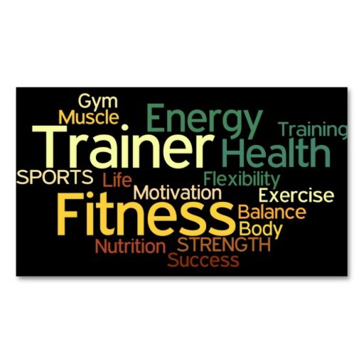 288 best Fitness Trainer Business Cards images on Pinterest ...