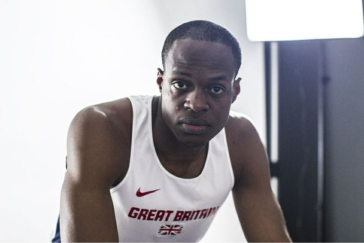James Dasaolu British athlete specialises in 60m 100m. P.B of 6.47 for 60m and 9.91 for 100m