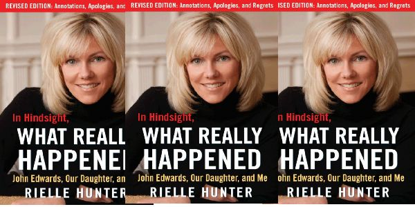 Shes back.  Rielle Hunter Says Shes Sorry.