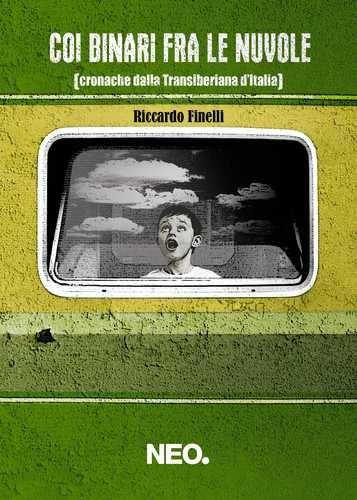 """C'era un treno che aveva le ali, c'è un binario che attraversa le nuvole, ci sono storie che sanno di terra, di fuoco, di neve e di acciaio.  Tra nuove linee ferroviarie che nessuno vuole e altre amate che muoiono, un libro magico in cui la realtà diventa leggenda ed il viaggio l'occasione per interrogarsi su cosa, nel XXI secolo, significhi la parola """"Italia"""".  http://www.neoedizioni.it/neo/catalogo/coi-binari-fra-le-nuvole/"""