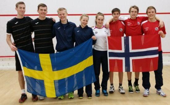 Sverige mot Norge JEM 2014 Helsingfors
