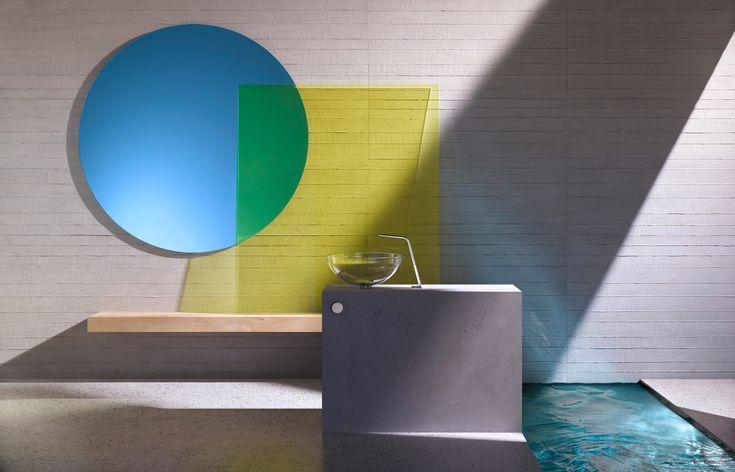 Create a bathroom with luxury #Dornbracht #LuxuryInteriors #Faucet
