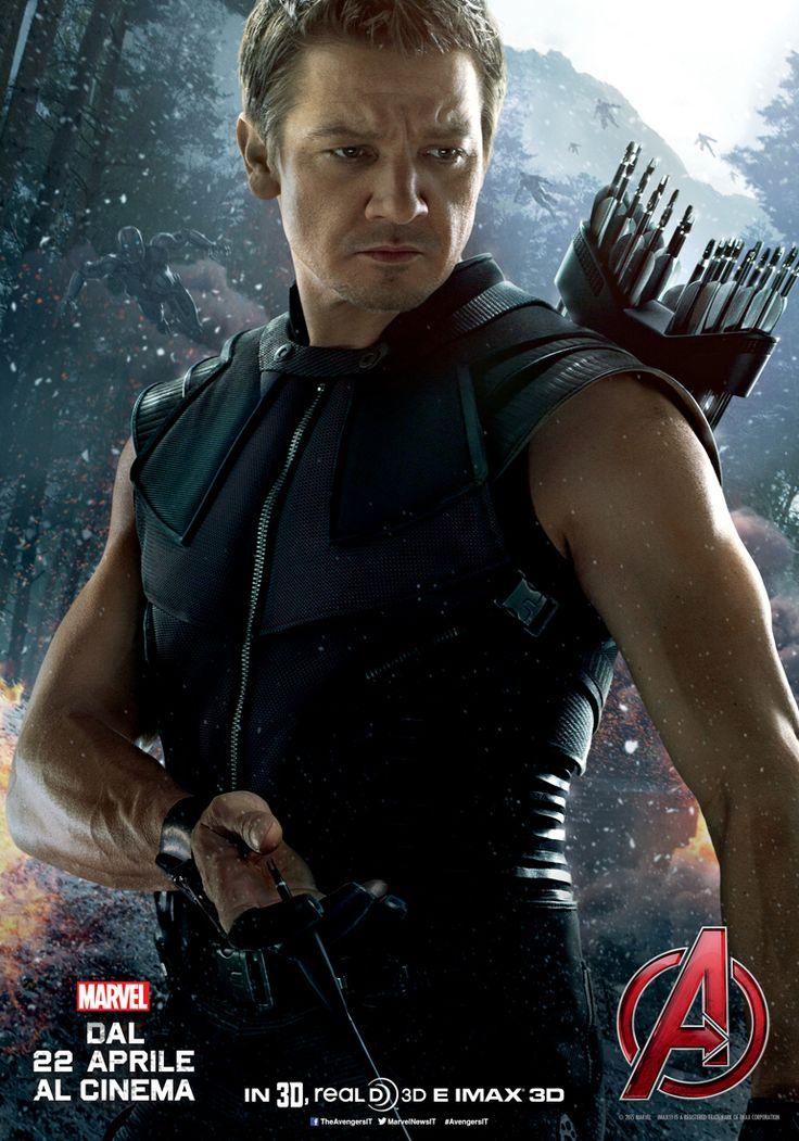 Avengers – Age of Ultron: il character poster di Occhio di Falco